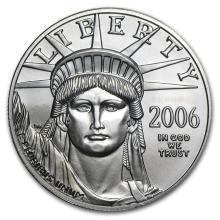 2006 1 oz Platinum American Eagle BU