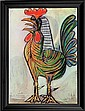 Pablo Picasso-Limited Edition Giclee Estate Signed-Le Coq