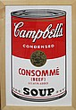 Andy Warhol-Serigraph-Campbell Soup Pepper Pot