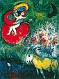 Marc Chagall Limited Ed Giclee Madonna and the Red Robe