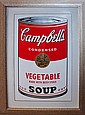 Andy Warhol Serigraph Campbells Soup Beef