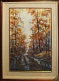 Michael Schofield Original Watercolor-Bayou