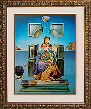 Salvador Dali-Ltd Ed The First Study for Madonna