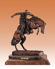 Frederic Remington -Whooly Chaps Bronze Sculpture