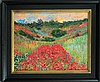 Claude Monet- Ltd Ed Giclee-Poppyfield at Giverny
