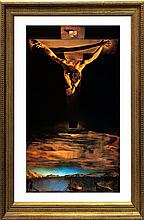 Salvador Dali-Limited Lithograph-Christ St.John on