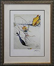 Salvador Dali Lithograph Limited Edition