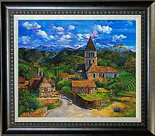Arina Original Oil Celtic Village