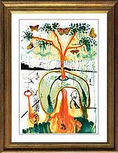 Salvador Dali Mad Tea Party Ltd. Edition