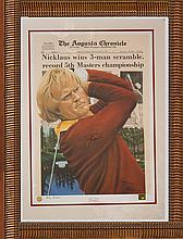 Jack Nicklaus Lithograph