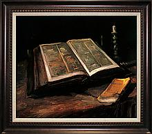 Van Gogh-Limited Edition Giclee-Still Life with Bible