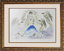 Salvador Dali Limited Edition Hand signed Lithograph