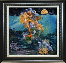 Arina Zodiac Series Hand Embellished Limited Edition