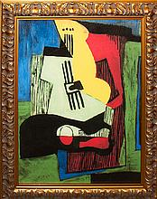 Pablo Picasso-Limited Edition Still Life with Guitar