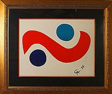Alexander Calder Limited Edition Stone Lithograph