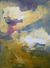 Michael Schofield- Original Oil-Abstract Amber Sunshine
