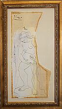 Pablo Picasso-Limited Edition Woman Pouring Water