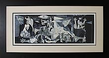 Pablo Picasso-Limited Edition Lithograph-Guernica
