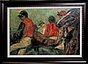 Edgar Degas-Jockeys & Horses Limited Edition