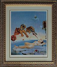 Salvador Dali-Ltd Lithograph-Seconds Before Awakening