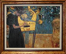 Gustav Klimt-Limited Edition Giclee -Allegory of Music