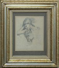 Vintage Varner Original pencil drawing from 1971