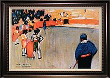 Pablo Picasso-Limited Edition Bullfight II