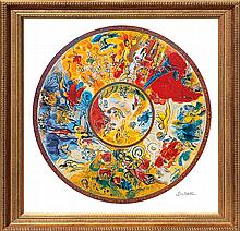 Marc Chagall-Limited Edition -Paris Opera Ceiling