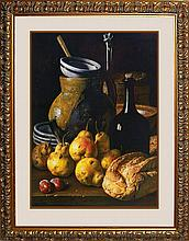 Luis Melendez- Stilllife with Pears Limited Edition