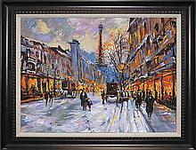 Michael Schofield Mixed Media Paris