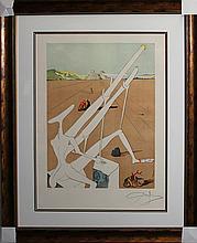 Salvador Dali Cosmos Original Lithograph Hand Signed