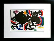 Joan Miro Hand signed Lithograph