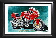 Richard Johnson Ducati Limited Edition
