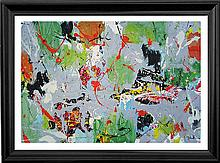 Jenik Abstract No. 24 Limited Edition Giclee