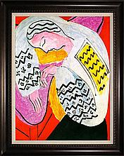 Henri Matisse-Limited Edition Giclee-The Dream