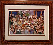Charles Bragg Limited Edition Lithograph-Hollywood