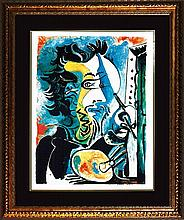 Pablo Picasso Limited Edition The Artist