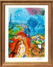 Marc Chagall Serenade Limited Edition Lithograph