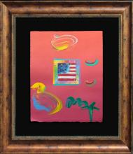 Mixed Media Original Peter Max