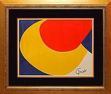Alexander Calder Limited Edition Serigraph