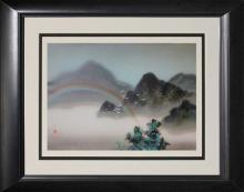 Misty Mountains- David Lee- Serigraph