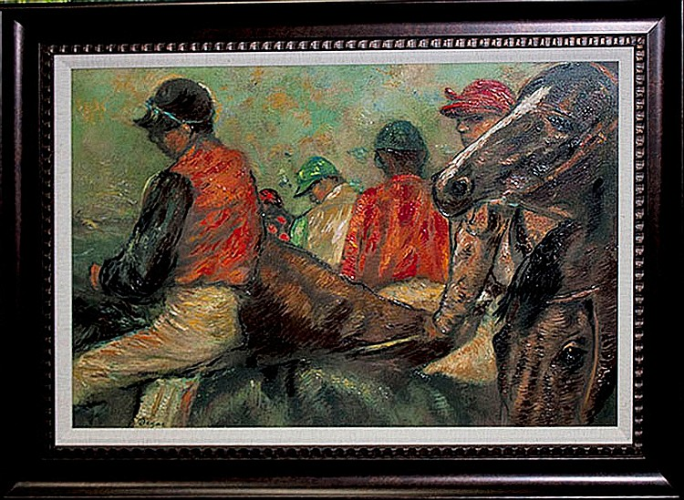 Edgar Degas-Limited Edition-Jockeys & Horses