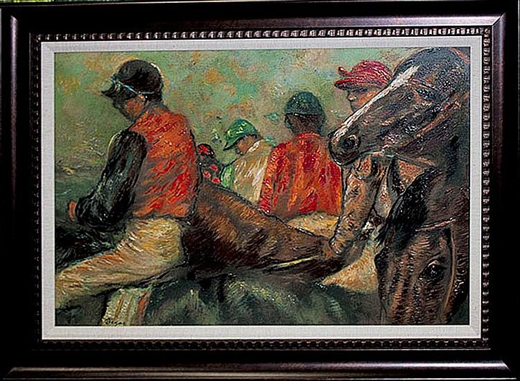 Edgar Degas-Limited Edition-Jockeys & Horses