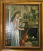 Corrine Layton Limited Edition Giclee By the Fireplace