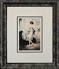 Louis Icart He Loves Me, He Loves Me Limited Edition