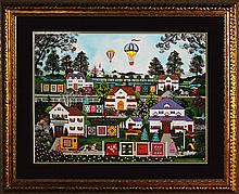 Jane Wooster Scott Limited Edition Giclee The Homestead