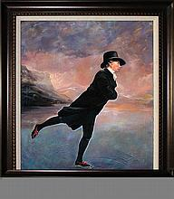 Sir Henry Rayburn Limited Edition Giclee Skating