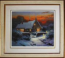 Sergon-Carols Cottage-Limited Edition Giclee