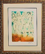 Salvador Dali Limited Edition Lithograph