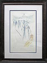 Salvador Dali-Limited Edition Lithograph-Three Kings